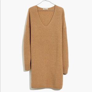 Madewell V Neck Sweater Dress